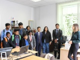 Визит в МАИ делегации из Индии