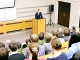 Лекция Министра промышленности и торговли РФ Д. Мантурова