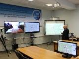 Видеоконференция с Белорусской государственной академией авиации