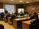 Старт дан - начались занятия в лаборатории инженерного класса по робототехническому направлению для будущих студентов МАИ